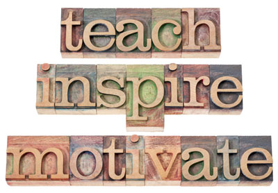 Motivational Blocks, Teach Inspire Motivate