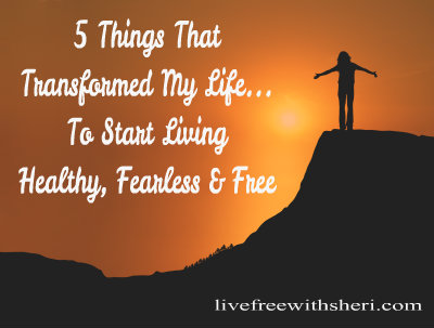 5 Things that Transformed My Life