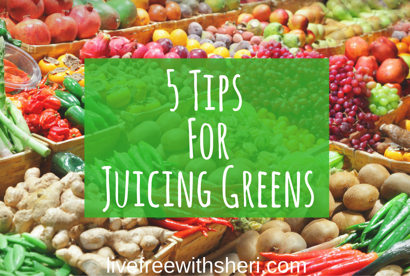 5 Tips for Juicing Greens