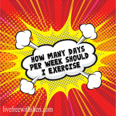 How Many Days Per Week Should I Exercise?