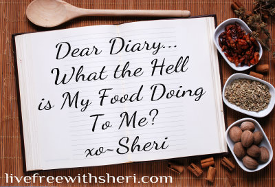 Dear Diary… What the Hell is My Food Doing to Me?