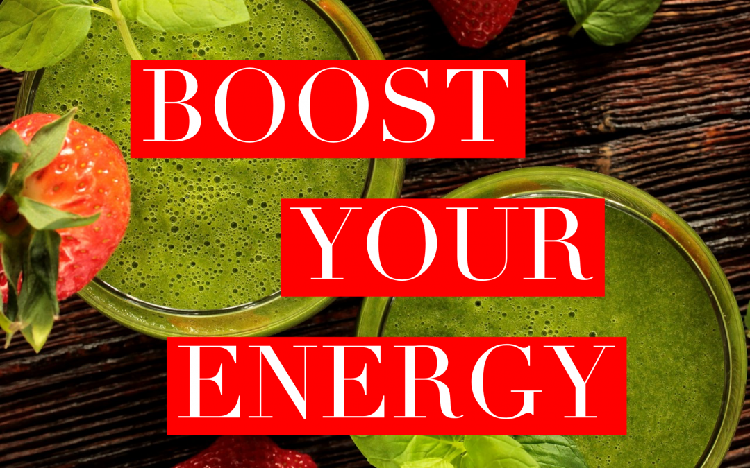 6 Tips for Increasing Your Energy